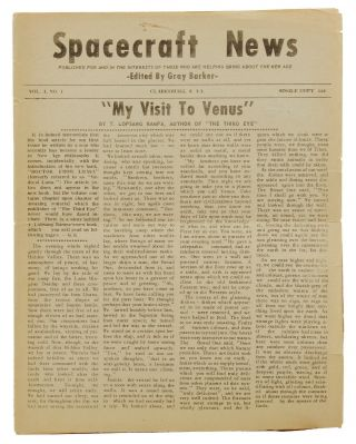 Spacecraft News: Published for and in the Interests of Those Who are Helping Bring About the New...