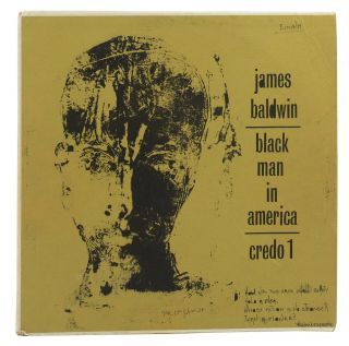 Black Man in America: An Interview with James Baldwin (Original LP). James Baldwin