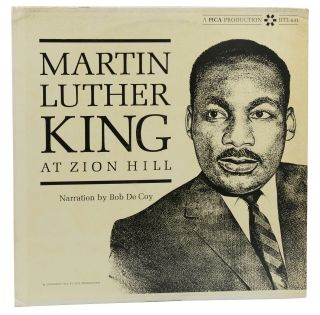 Martin Luther King at Zion Hill (LP Album). Martin Luther King, Bob DeCoy, Dootsie Williams,...
