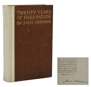 Twenty Years at Hull-House. Jane Addams