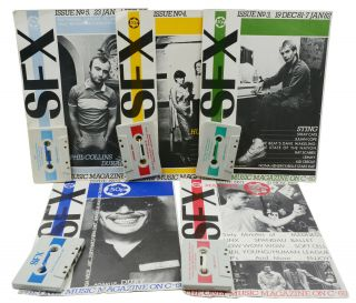 SFX: The Only Music Magazine on C-60 (Complete Run, Issues 1-19)