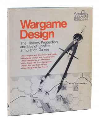 Wargame Design: The History, Production and Use of Conflict Simulation Games. Richard H. Berg,...