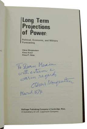 Long Term Projections of Power