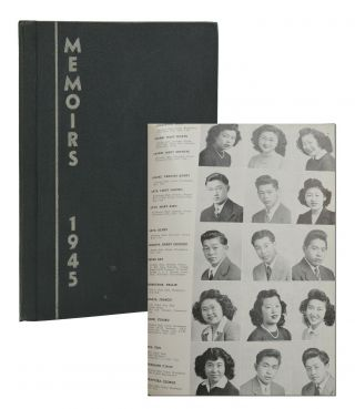 Memoirs 1945, Hunt High School, Hunt, Idaho; Volume 3. Japanese Internment Camp Yearbook