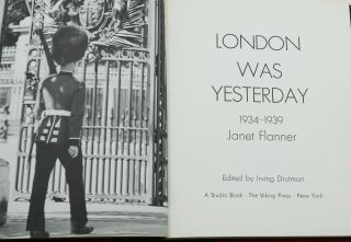 London was Yesterday: 1934-1939