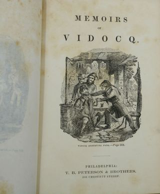 Memoirs of Vidocq: The Principal Agent of the French Police
