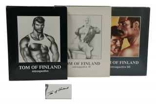 Retrospective; Retrospective II; Retrospective III. Tom of Finland