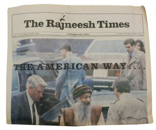 The Rajneesh Times: A Newspaper with a Vision, Vol. 4 - No. 11, Friday, November 8, 1985