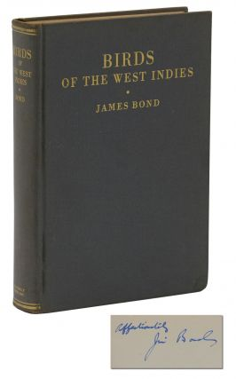 Field Guide to Birds of the West Indies. James Bond