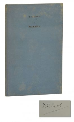 Marina. T. S. Eliot, E. McKnight Kauffer, Illustrations