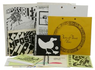 The Impossibilists: Imps Broadsides and Manifestos Nos. 2, 3, 5, 6, 7, 8, 9, & 10. MAIL ART, Tom...