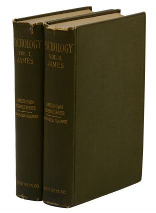 The Principles of Psychology (American Science Series - Advanced Course). William James