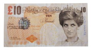 Di-Faced Tenner. Banksy