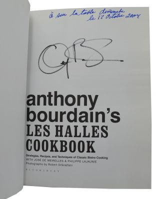 Anthony Bourdain's Les Halles Cookbook