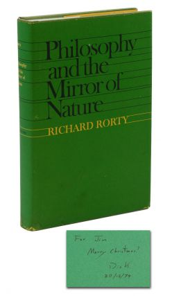 Philosophy and the Mirror of Nature. Richard Rorty