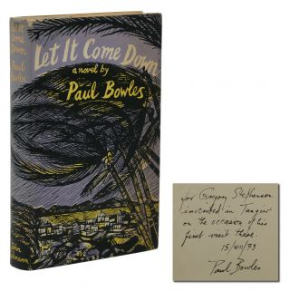 Let It Come Down. Paul Bowles
