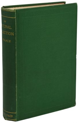 Contributions to the Theory of Natural Selection. A Series of Essays. Alfred Russel Wallace