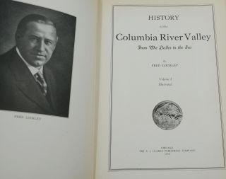 History of the Columbia River Valley from the Dalles to the Sea