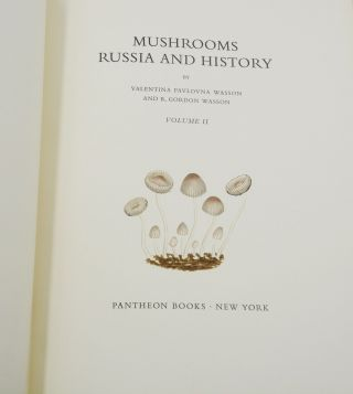 Mushrooms, Russia, and History