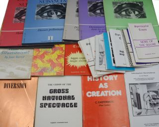 Collection of 90 post-situationist and anarchist pamphlets and periodicals