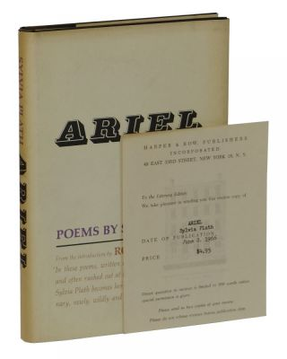 Ariel: Poems. Sylvia Plath.