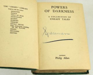 Powers of Darkness A Collection of Uneasy Tales
