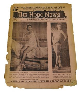 The Hobo News: A Little Fun to Match the Sorrow October 8, 1946. Patrick Mulkern