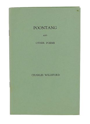 Poontang and Other Poems. Charles Willeford