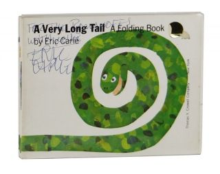 A Very Long Tail: A Folding Book. Eric Carle.