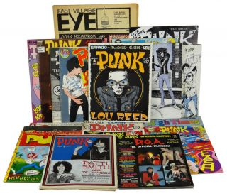 PUNK Magazine Complete Run 1-17 with Extras (1975-1981). John Holmstrom, Legs McNeil