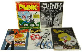 PUNK Magazine Complete Run 1-17 with Extras (1975-1981)