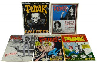 PUNK Magazine Complete Run 1-17 with D.O.A. Filmbook (1975-1979)