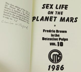 Sex Life on The Planet Mars