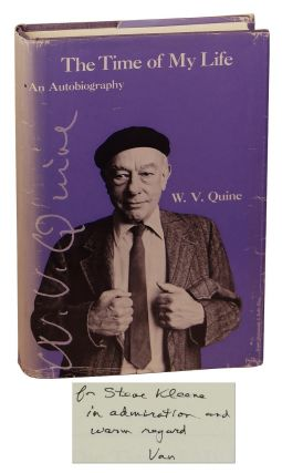The Time of My Life: An Autobiography. Willard Van Orman Quine, Stephen Kleene