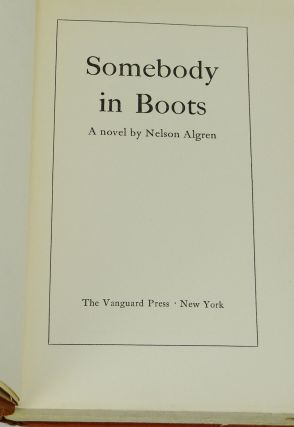 Somebody In Boots