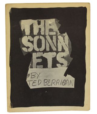 The Sonnets. Ted Berrigan.