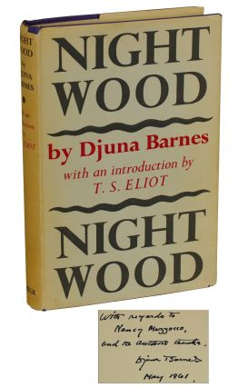 Nightwood. Djuna Barnes, T. S. Eliot, Introduction