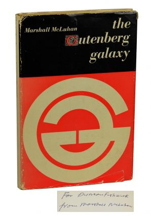 The Gutenberg Galaxy: The Making of Typographic Man. Marshall McLuhan