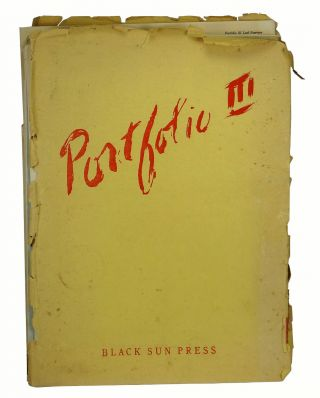 "Portfolio: An Intercontinental Quarterly Volume III, Spring 1946 (Including the poem ""20 Tanks..."