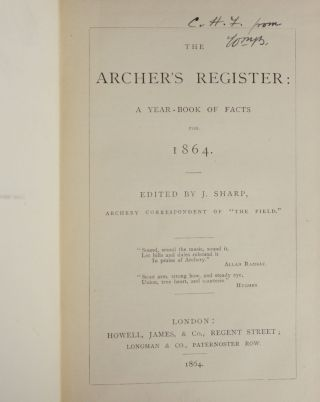 The Archer's Register