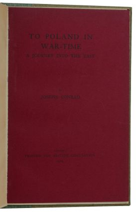 To Poland in War-Time