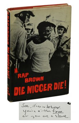 Die Nigger Die! H. Rap Brown, William Kunstler