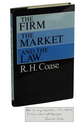 The Firm, the Market, and the Law. Ronald Coase