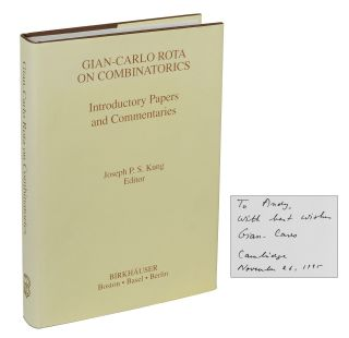 Gian-Carlo Rota on Combinatorics: Introductory Papers and Commentaries. Gian-Carlo Rota, Joseph Kung