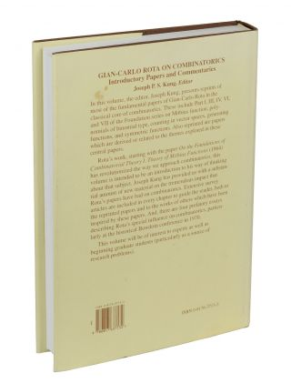Gian-Carlo Rota on Combinatorics: Introductory Papers and Commentaries