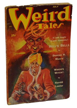 Weird Tales July 1952. H. P. Lovecraft, Harold Lawlor