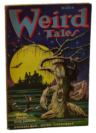 The Horror at Red Hook by H.P. Lovecraft in Weird Tales March 1952. H. P. Lovecraft, Alice...