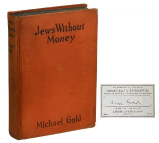 Jews Without Money. Michael Gold, Howard Simon, Woodcuts