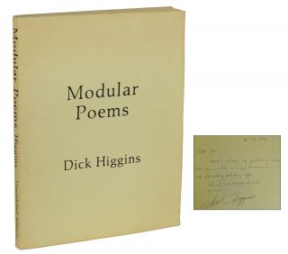 Modular Poems. Dick Higgins