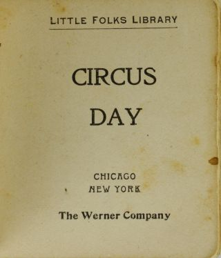 Circus Day (Little Folks Library)